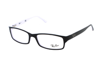 Ray-Ban RX5114 2097 Brille in black/white