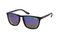 Superdry SDS Shockwave 127 Sonnenbrille in schwarz