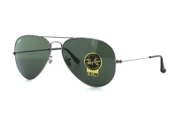 Ray-Ban Aviator Large Metal RB 3025 W0879 Sonnenbrille in gunmetal