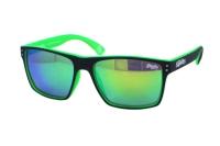 Superdry SDS Kobe 108 Sonnenbrille in blau/neon grün