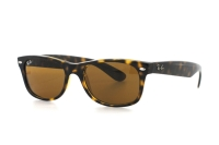 Ray-Ban New Wayfarer RB 2132 710 Sonnenbrille in light havana