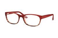 Marc O'Polo 503030 50 Brille in rot/havanna verlauf