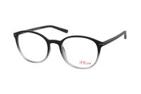 s.Oliver 93571 680 Brille in schwarz/grau verlauf
