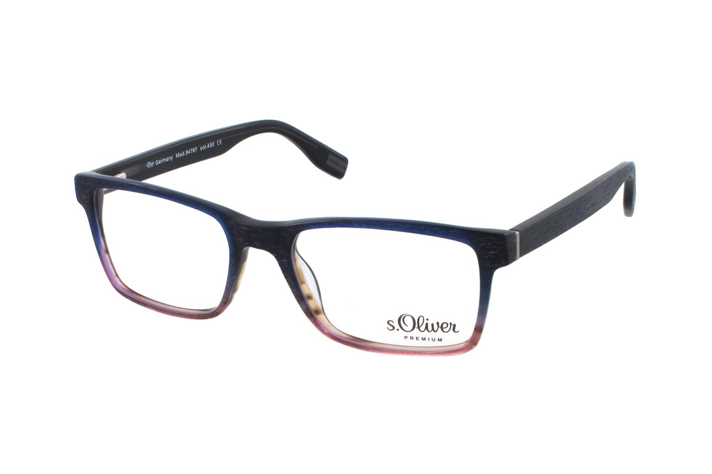 s oliver premium 94767 430 brille in blau rot. Black Bedroom Furniture Sets. Home Design Ideas