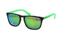 Superdry SDS Shockwave 107 Sonnenbrille in havanna/neon grün