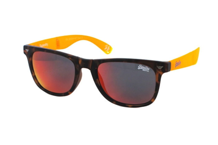 Superdry SDS Supergami 113 Sonnenbrille in transparent 52/20 AeOheUjnO
