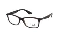 Ray-Ban RX7047 5451 Brille in matte trasp brown