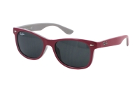 Ray-Ban RJ 9052S 177/87 Kindersonnenbrille in top red fuxia on gray