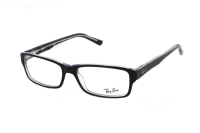 Ray-Ban RX5169 2034 Brille in top black on transparent