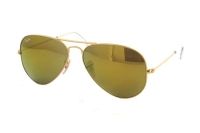 Ray-Ban Aviator Large Metal RB 3025 112/93 Sonnenbrille in matte gold