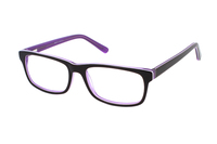 Megabrille Modell A70B Brille in lila
