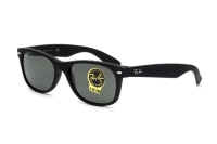 Ray-Ban New Wayfarer RB 2132 622 Sonnenbrille in black rubber