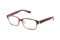 Megabrille Modell CP188C Brille in transparent/rot