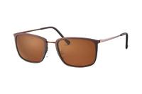 TITANflex 824064 60 Sonnenbrille in braun matt