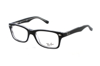 Ray-Ban RY1531 3529 Kinderbrille in top black on transparent