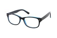Megabrille Modell CP182C Brille in schwarz/blau
