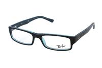 Ray-Ban RX5246 5092 Brille in schwarz/türkis