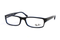 Ray-Ban RX5114 5064 Brille in braun/blau