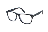 Megabrille Modell A68B Brille in grün/blau