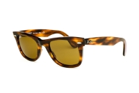 Ray-Ban Wayfarer RB 2140 954 Sonnenbrille in light tortoise