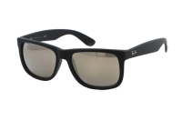 Ray-Ban Justin RB 4165 622/5A Sonnenbrille in rubber black