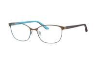 Humphrey's 582238 60 Brille in braun/türkis