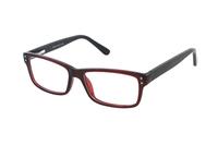 Megabrille Modell CP178F Brille in rot/schwarz