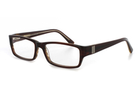 Megabrille Modell A179B Brille in braun