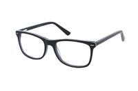 Megabrille Modell A71B Brille in grün/transparent/blau