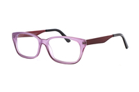 Megabrille Modell A112B Brille in pink