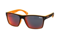 Superdry SDS Kobe 127 Sonnenbrille in schwarz/neon orange