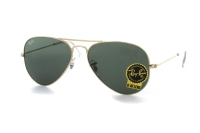 Ray-Ban Aviator Large Metal RB 3025 W3234 Sonnenbrille in gold