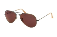 Ray-Ban Aviator Large Metal RB 3025 167/2K Sonnenbrille in brushed bronze