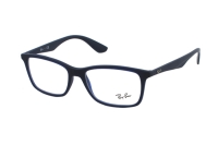 Ray-Ban RX7047 5450 Brille in matte trasp blue