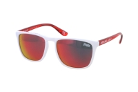 Superdry SDS Shockwave 142 Sonnenbrille in weiß/rot