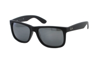 Ray-Ban Justin RB 4165 622/6G Sonnenbrille in rubber black