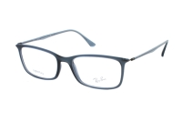 Ray-Ban RX7031 5400 Brille in demigloss dark blue
