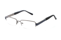 Megabrille Modell 229D Brille in silber/blau