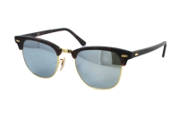 Ray-Ban Clubmaster RB 3016 1145/30 Sonnenbrille in sand havana/gold