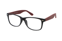 Megabrille Modell CP169E Brille in schwarz/rot