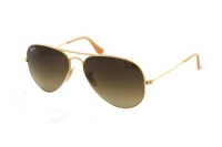 Ray-Ban Aviator Large Metal RB 3025 112/85 Sonnenbrille in matte gold