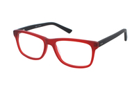 Megabrille Modell A72G Brille in rot
