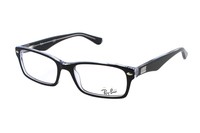 Ray-Ban RX5206 2034 Brille in schwarz/transparent