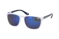 Superdry SDS Shockwave 140 Sonnenbrille in weiß/blau