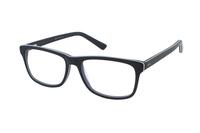 Megabrille Modell A72A Brille in grün/transparent blau