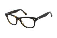 Megabrille Modell A101A Brille in havanna/braun