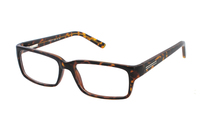 Megabrille Modell CP180E Brille in havanna/braun