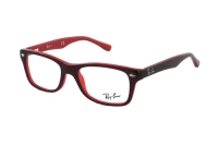 Ray-Ban RY1531 3592 Kinderbrille in top red on opalin red