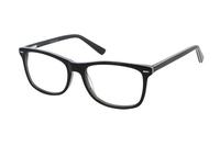 Megabrille Modell A71E Brille in schwarz/grau