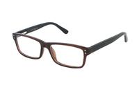 Megabrille Modell CP178A Brille in braun/schwarz